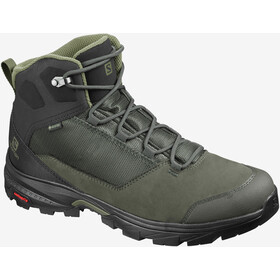 Salomon OUTward GTX Schoenen Heren, peat/black/burnt olive